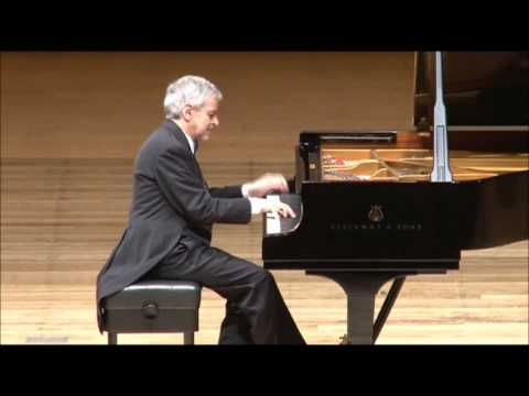 Sinding – Frühlingsrauschen (Rustle of Spring), performed by Amaral Vieira, piano (video)