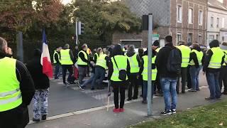 incidents blocage gilet jaune 17 novembre