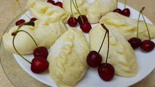 ВАРЕНИКИ с ВИШНЕЙ, цыганка готовит. Gipsy cuisine.