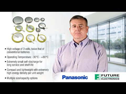 Panasonic Coin Type CR & BR Lithium Batteries – High Energy & Reliability in One!