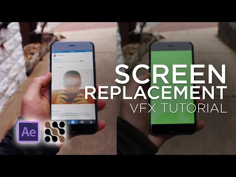 VFX Tutorial: Screen Replacement