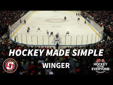 Hockey Made Simple - Wingers (Left & Right)
