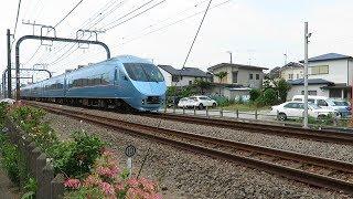 小田急江ノ島線・小田急ロマンスカー60000形MSE(Odakyu Enoshima Line)