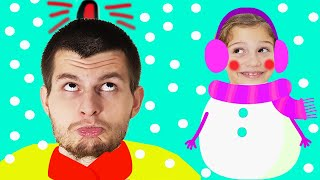Winter Song For Children and Kids | This Is The Way | Fun in Snow | Kids Songs From Baa Bee