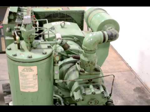 sullair 30 hp model 10 30 acac 24kt rotary screw air compressor rh youtube com Sullair Parts List Sullair Air Tool Parts