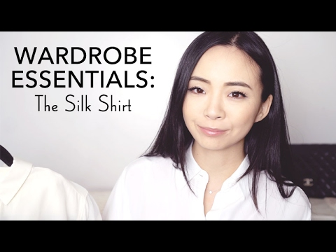 SILK SHIRTS: WHY & WHERE TO BUY | EQUIPMENT VS. EVERLANE SILK REVIEW | WARDROBE ESSENTIAL | LvL