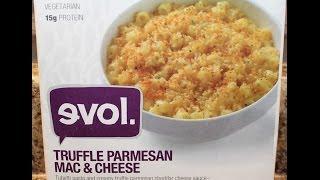 Evol. Truffle Parmesan Mac & Cheese Food Review