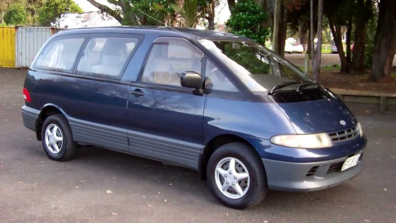 1995 Toyota Estima Lucida 8 Seater People Mover 1 Reserve