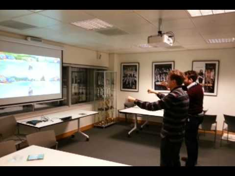 Xbox One Kinect Sports With HD Projector YouTube