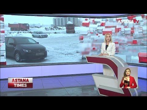В Нур-Султане после рекордных осадков снег вывозят на окраины