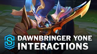 Dawnbringer Yone Special Interactions