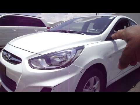 Rental Car Inspection Aeropuerto Cibao, Santiago Dominican R