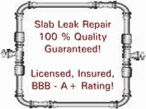 Slab Leak Detection and Repair in Rowlett