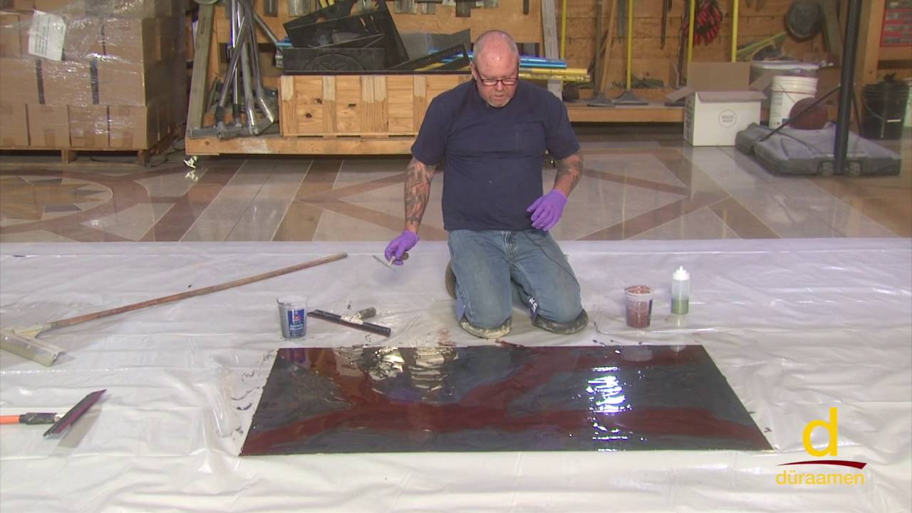 Metallic Epoxy Coatings for Tenant Improvements, Retails Stores & Museums