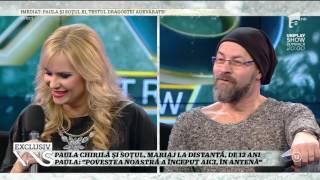 Testul compatibilităţii, în direct, între Paula Chirilă şi soţul ei, Marius!