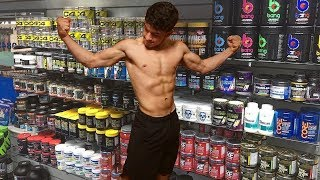 Should Teens Take Pre Workout? | 17 Year Old Bodybuilder Shoulders Workout | Building Mass Ep.14