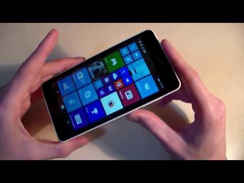 Обзор Microsoft Lumia 535 (плюсы и минусы) (HD)