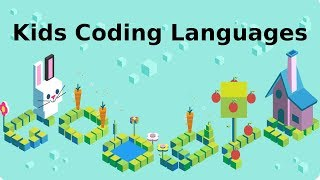 Google Doodle for Celebrating 50 years of Kids Coding Languages