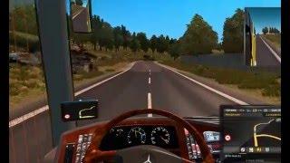 Euro Truck Simulator 2 0403 Mercedes Tanıtım