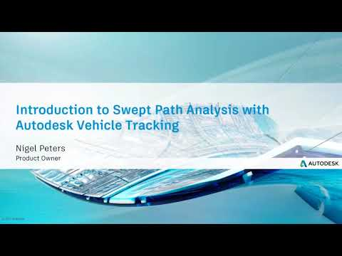 Feb 7th Civil Community Webcast: Introduction to Swept Path Analysis with Autodesk Vehicle Tracking