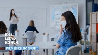 Help Your Child Get Used To Face Masks At School