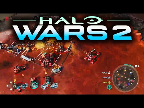 Halo Wars 2 - 60+ Minutes of Multiplayer Gameplay RUMBLE / OBJECTIVE / 2V2