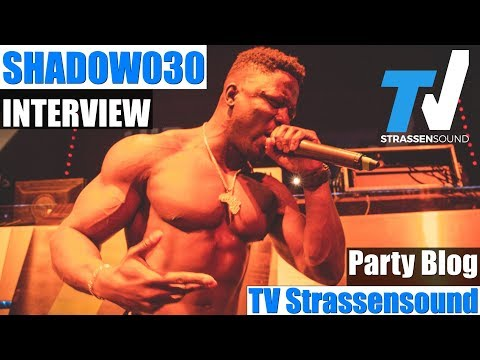 SHADOW030 Interview & Blog zur TV Strassensound Party: Live, Motivation, Fitness, Manuellsen, Mode