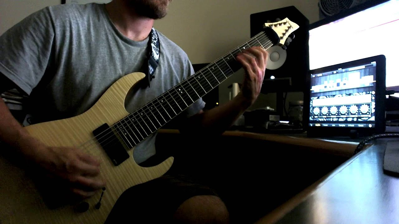 tom hand soilwork light the torch guitar playthrough youtube