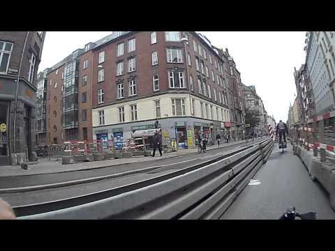 Bike Lane in a Construction Zone - Copenhagen