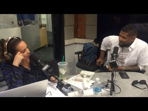 Usher Surprises Angie And Goes Live On Air