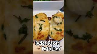 Stuffed Potato Recipe   Cheesy Twice Baked Potatoes   #shorts #ytshorts #youtubeshorts #tiktok