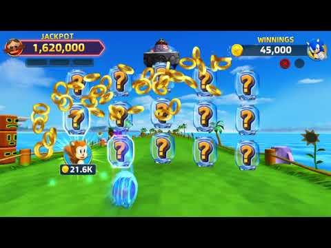 SEGA Slots - Sonic, Super Monkey Ball, u0026 Shadow Slots