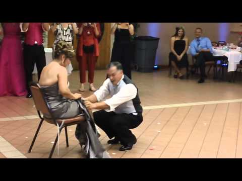 Music and More Entertainment Service Wedding Bouquet and Garter Toss Sample TOO funny!!