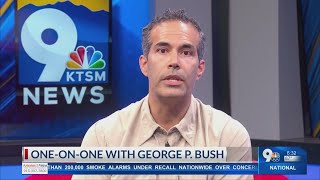 One-on-one with george p. bush