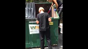 Garbage truck fetish