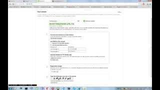 Установка бесплатного домена .tk на Hostinger.Ru