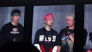 2018 H.O.T 에쵸티 콘서트, jtl토크, 장우혁 중심, 181014