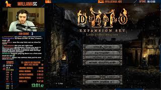 Diablo 2 - Hell Necro PERSONAL BEST - 6:59:27