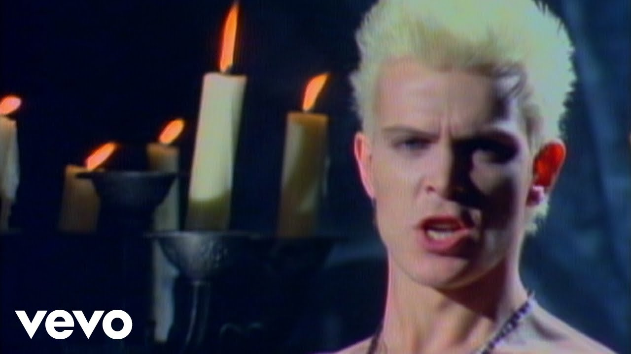 Billy Idol - White Wedding Pt 9 (Official Music Video)