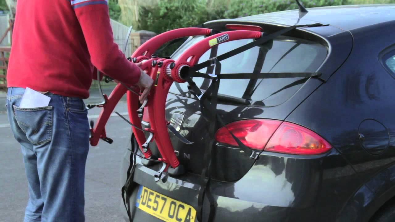 Renault Clio Body Mount 3 Bike Rack Carrier