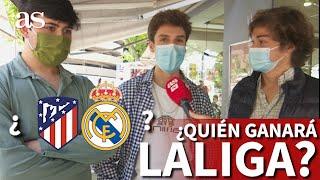 Atlético o Real Madrid: ¿qué equipo creen los madrileños que será campeón de LaLiga?