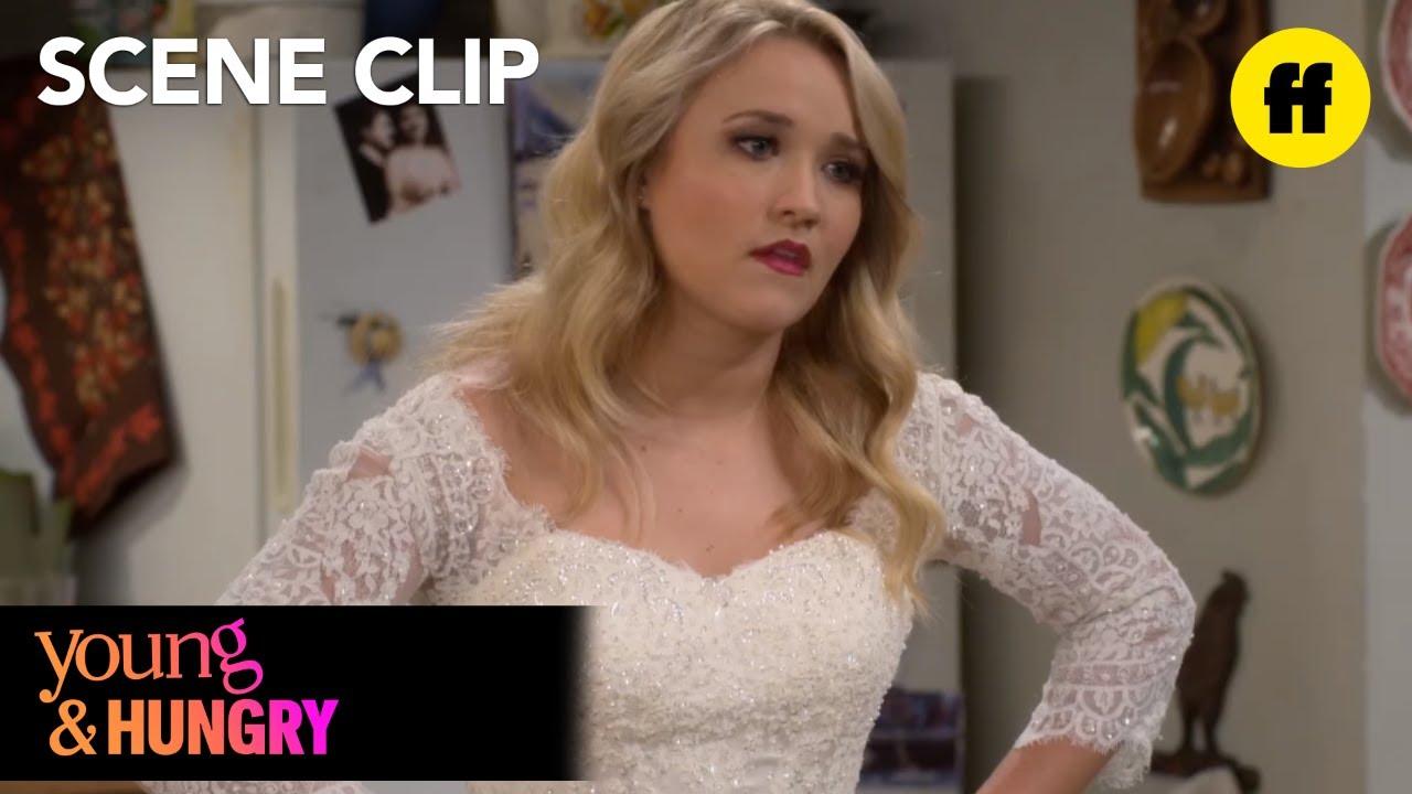 Download Young & Hungry   Season 5, Episode 2: Gabi Tries Ms. Wilson's Wedding Dress   Freeform
