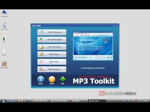 Mp3 Toolkit Cum convertim editam si decupam fisierele de tip mp3