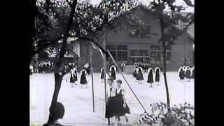 【学園アーカイブズ】四條畷高等女学校創立10周年記念映像「伸びゆくわれらが学園 第二編 学園の一日(全三編)」