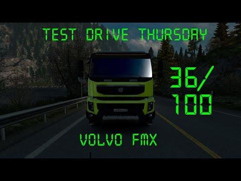 Euro Truck Simulator 2 - Test Drive Thursday #28 - Volvo FMX