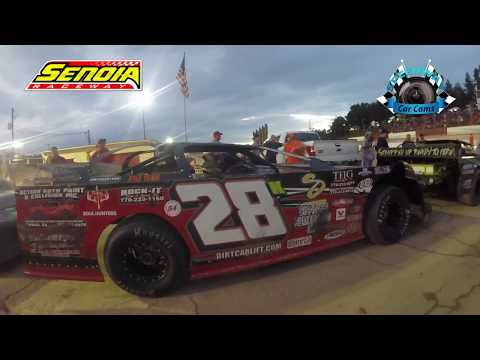 #28K Ted Willingham - Hobby - 8-12-17 Senoia Raceway - In Car Camera