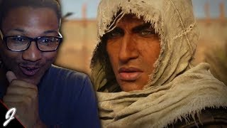 EGYPT IS LIT! - Assassin's Creed Origins Cinematic Trailer LIVE REACTION