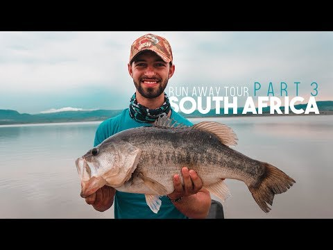 Catching A Monster Bass In South Africa - 9.5lb Bass!! - Lets Collab Jon B