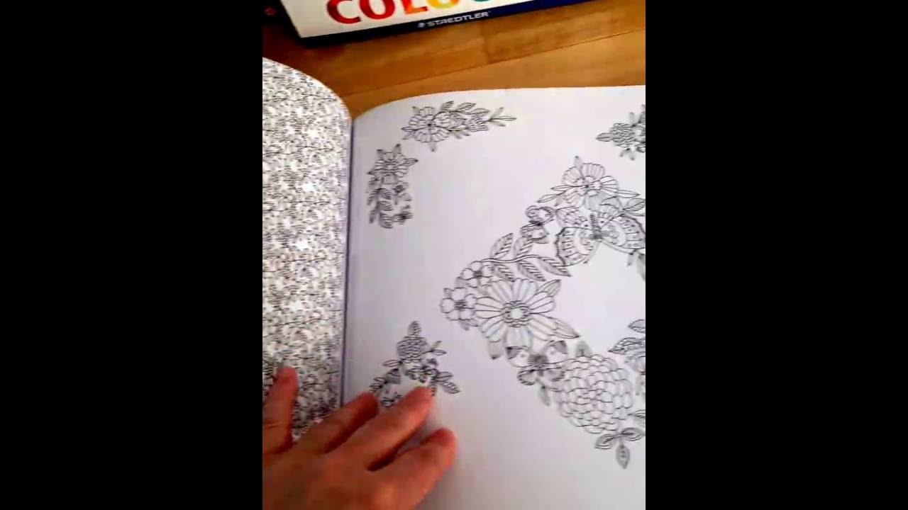 The coloring book of cards and envelopes flowers and butterflies - National Trust Flowers And Butterflies Colouring Book Of Cards And Envelopes Flip Through