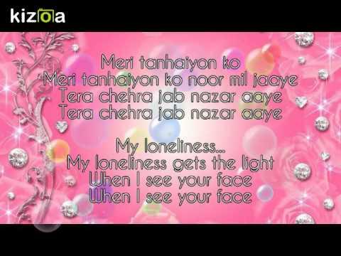 Tera Chehra -- Sanam Teri Kasam (Full Lyrics & English Translation)